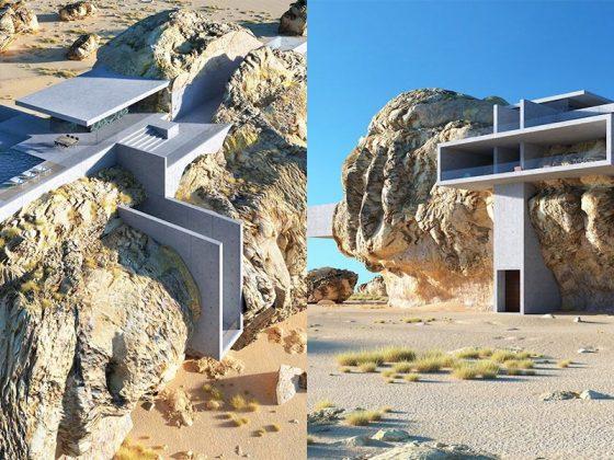 სახლი გიგანტურ ქვაში