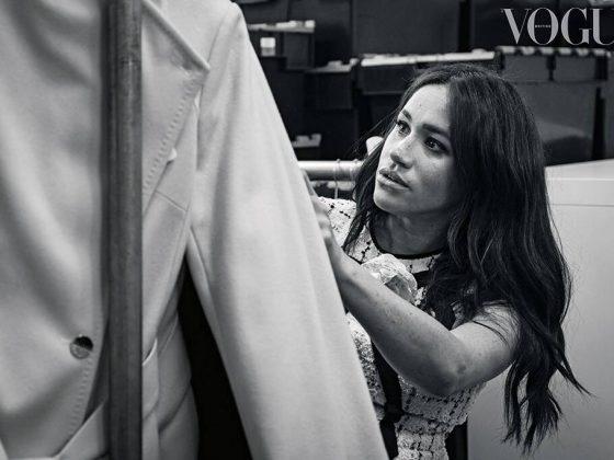 მეგან მარკლი Vogue