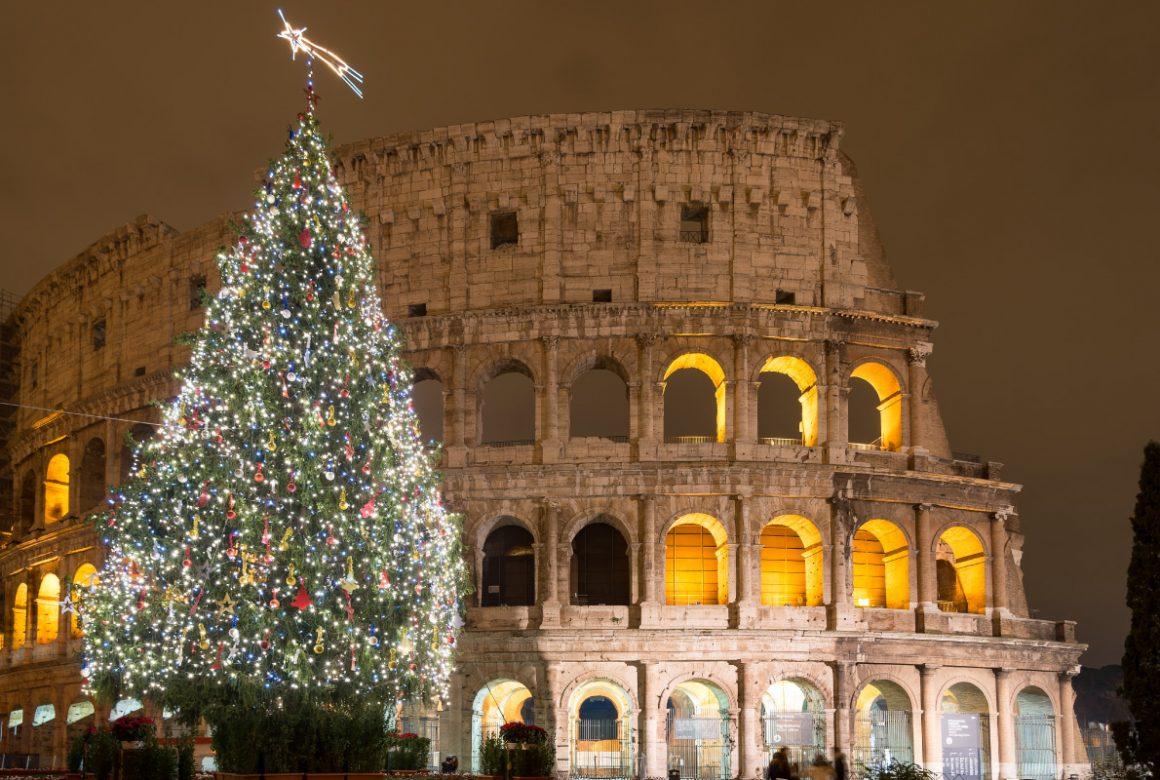ნაძვის ხეები იტალია რომი